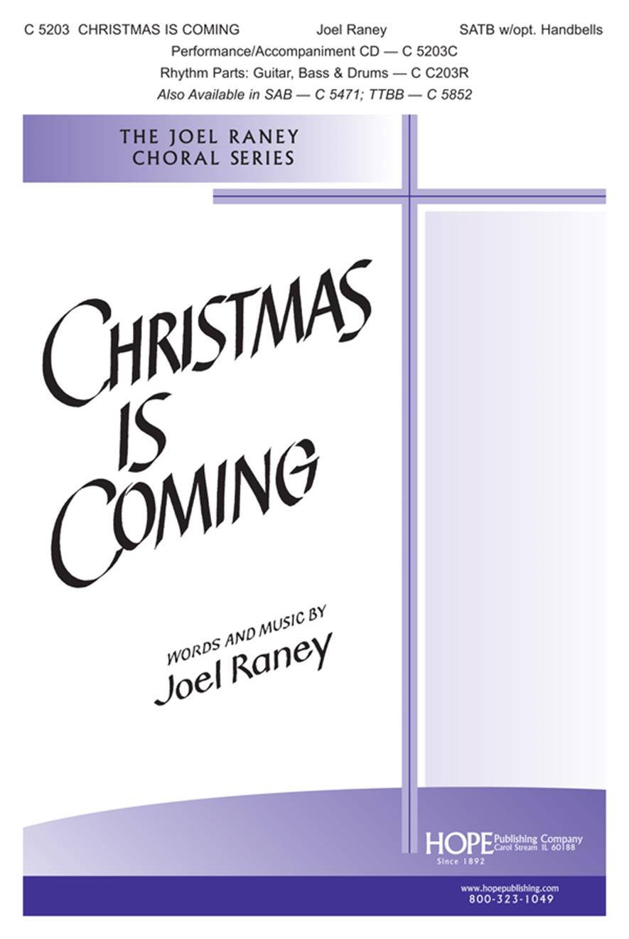 Christmas Is Coming - SATB Cover Image