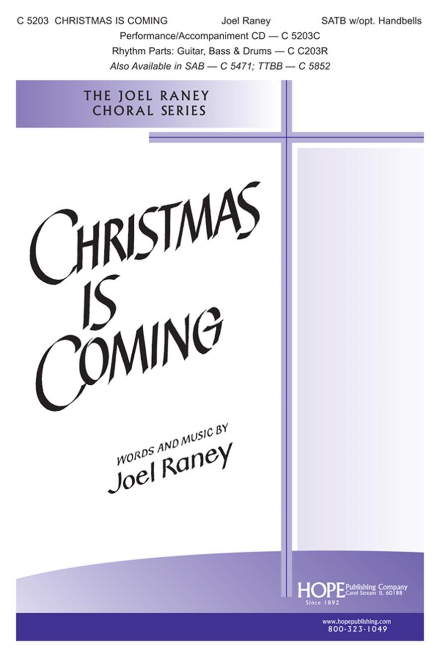 CHRISTMAS IS -JR-SATB - Hope Publishing Company
