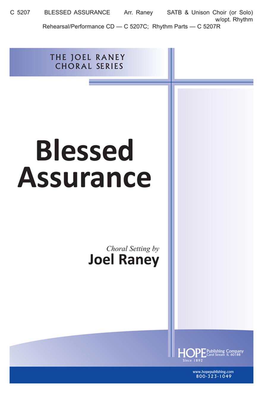 Blessed Assurance - SATB Cover Image