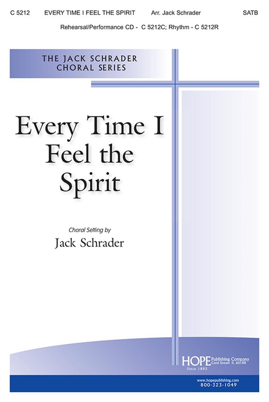 Every Time I Feel the Spirit - SATB Cover Image