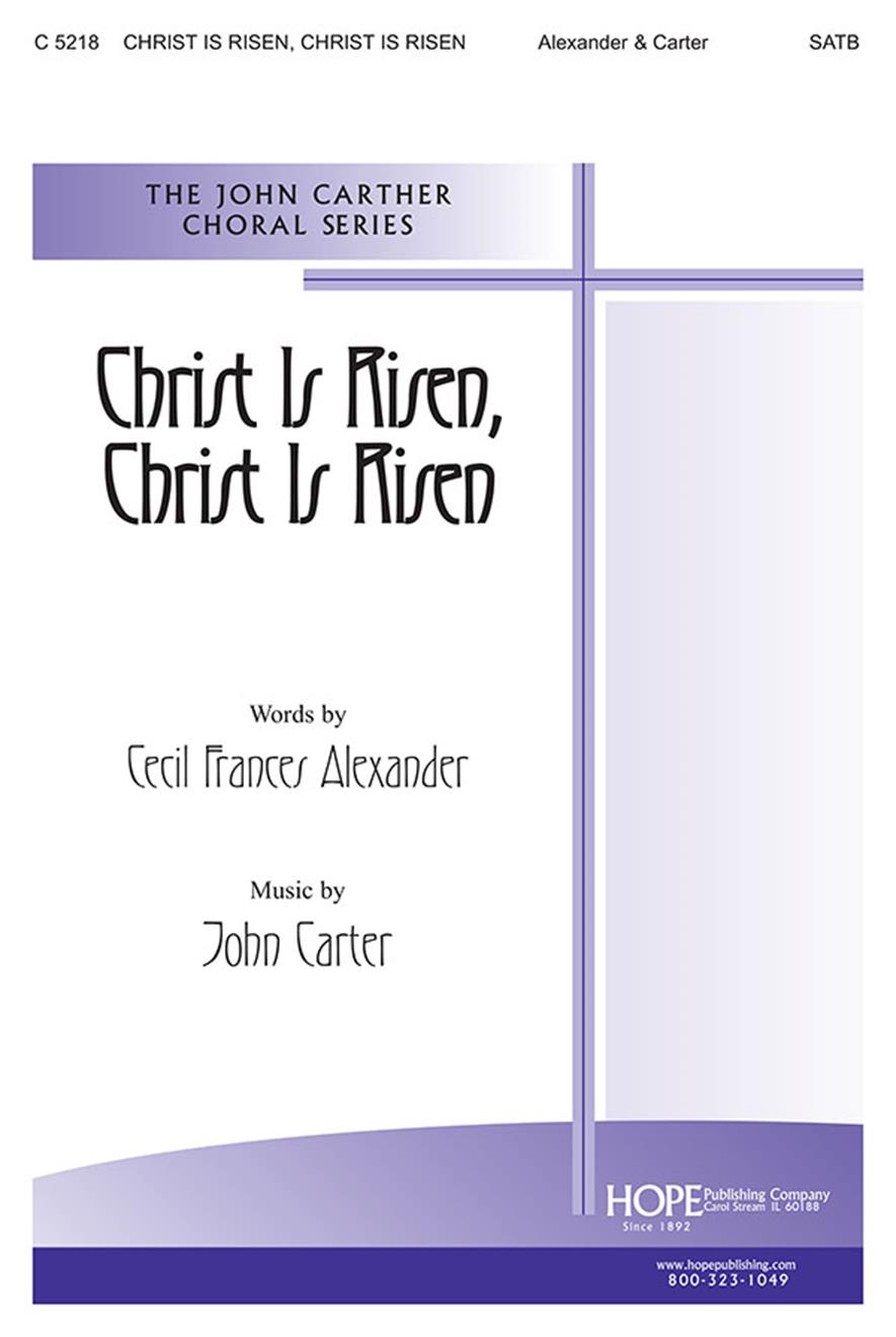 Christ Is Risen Christ Is Risen - SATB Cover Image