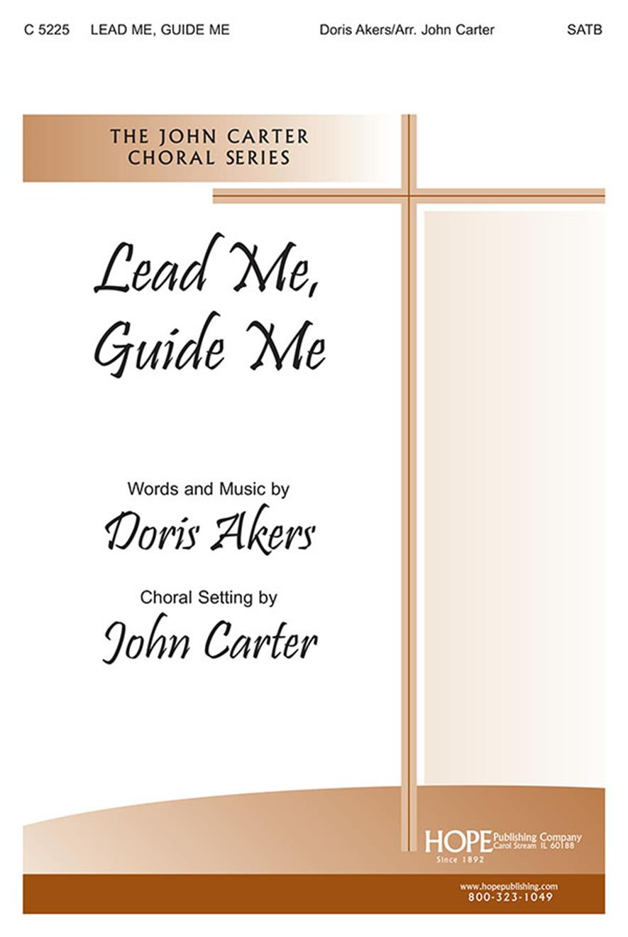 Lead Me Guide Me - SATB Cover Image