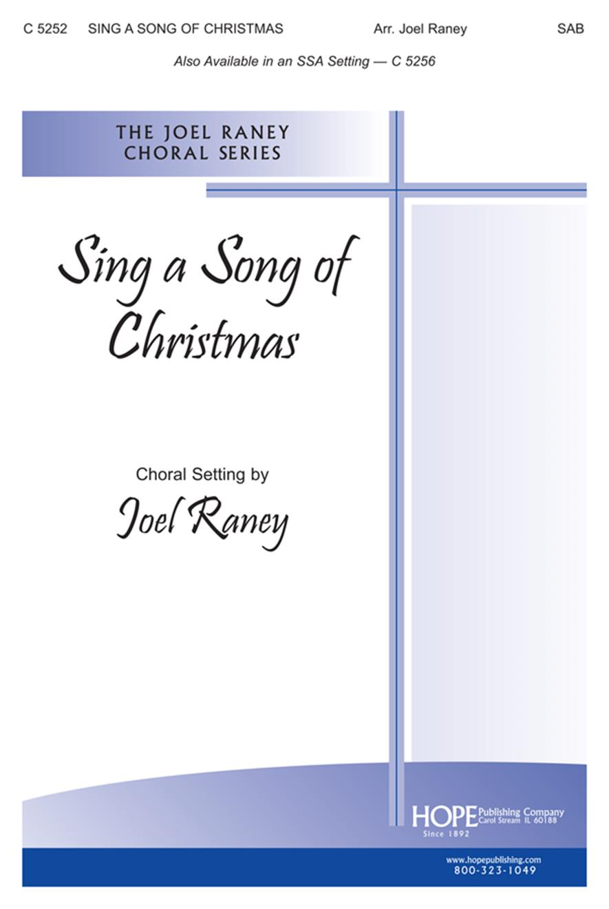 Sing a Song of Christmas - SAB Cover Image