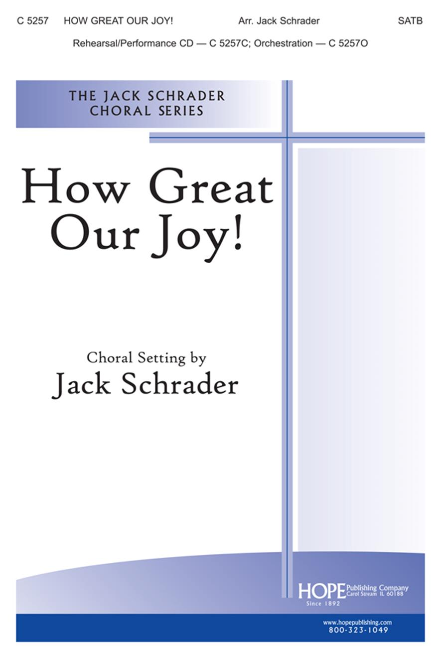 How Great Our Joy - SATB Cover Image