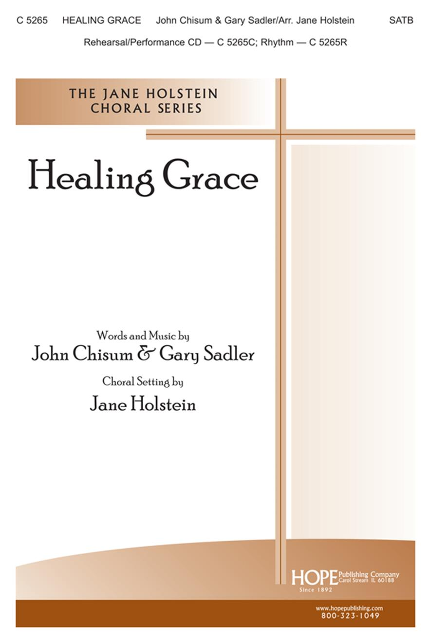 Healing Grace - SATB Cover Image
