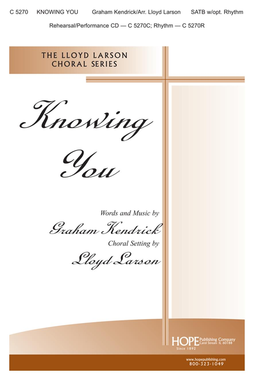 Knowing You - SATB w-opt. Rhythm Cover Image