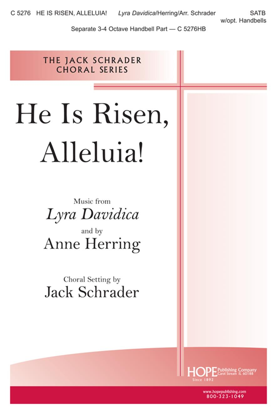 He Is Risen Alleluia - SATB Cover Image