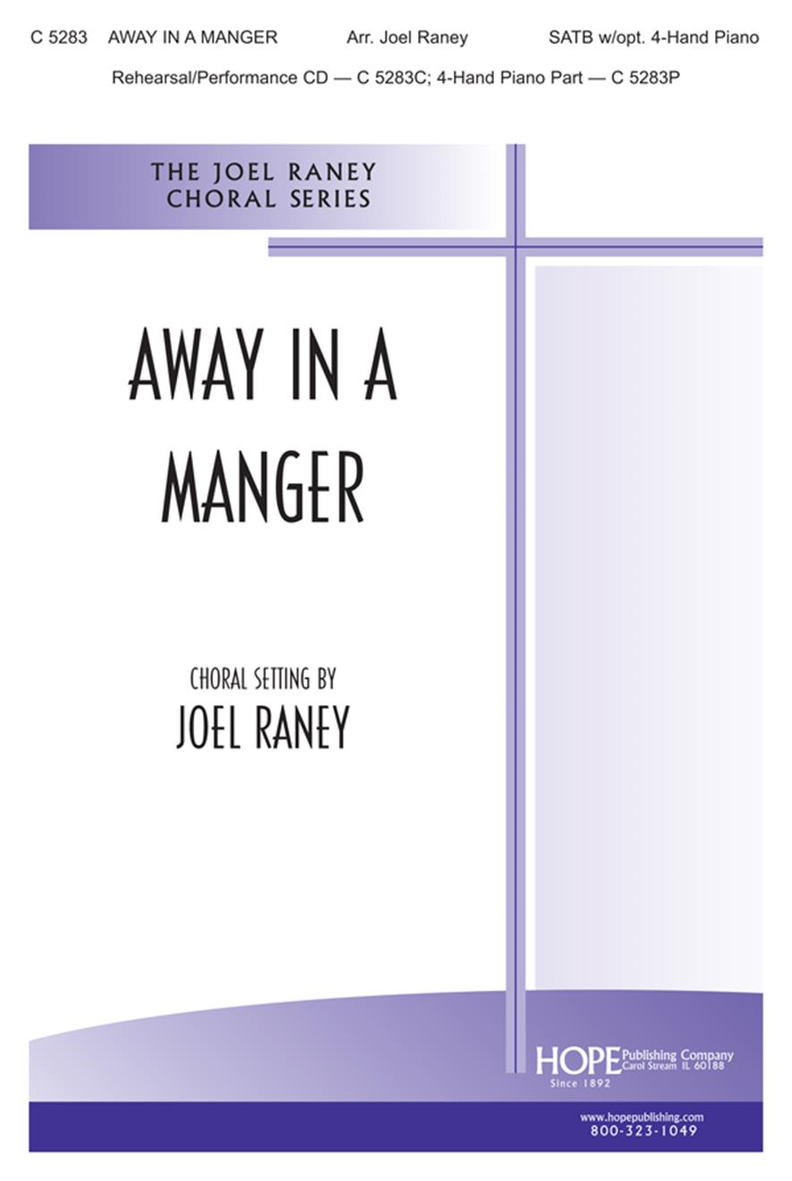 Away in a Manger - SATB Cover Image
