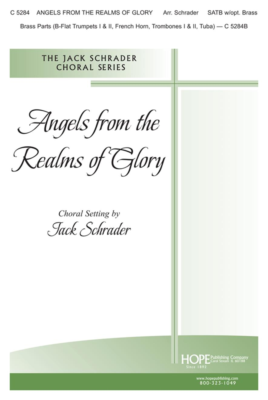 Angels from the Realms of Glory - SATB Cover Image