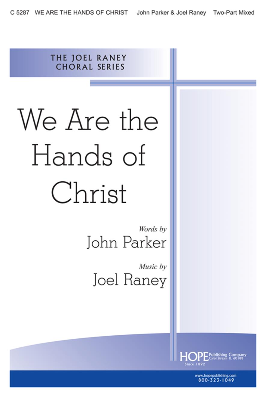 We Are the Hands of Christ - Two-Part Cover Image
