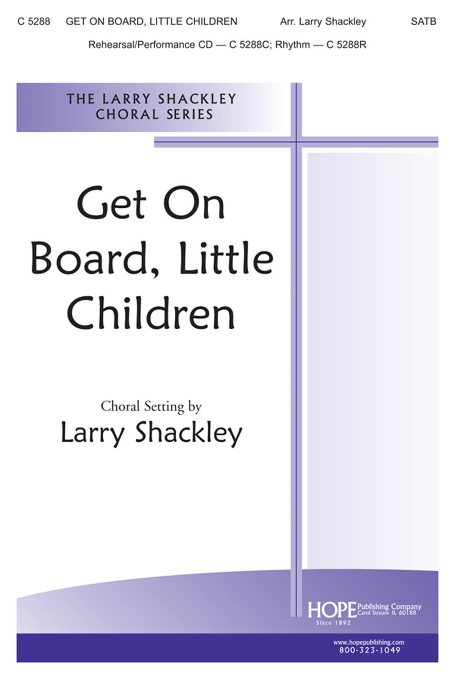 Get On Board Little Children - SATB Cover Image