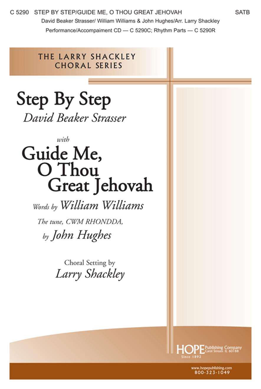 Step by Step-Guide Me O Thou Great Jehovah - SATB Cover Image