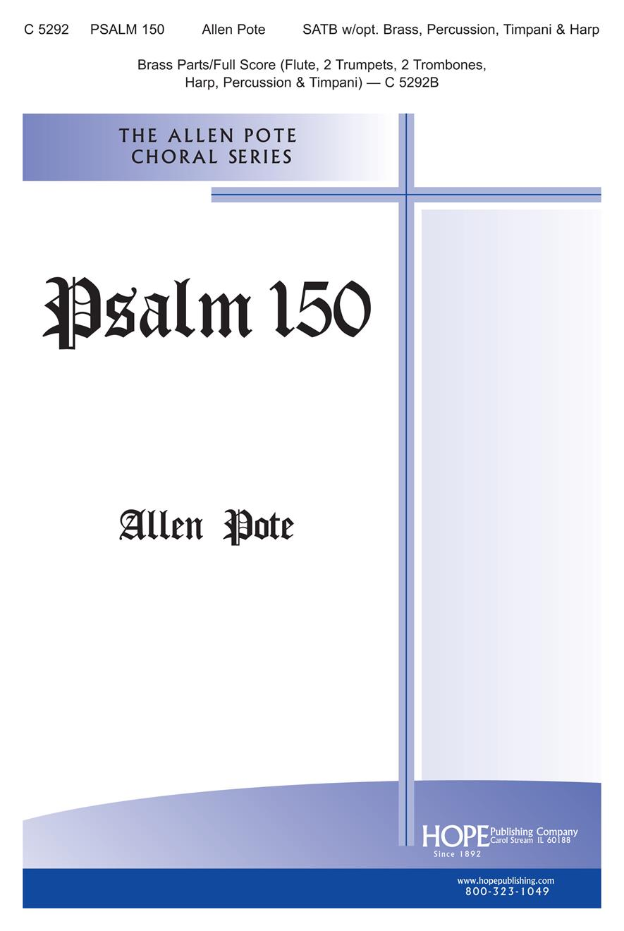 Psalm 150 - SATB Cover Image