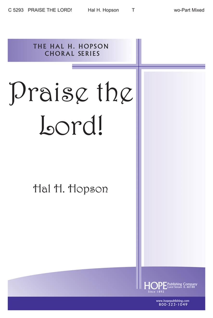 Praise the Lord - Two-Part Cover Image