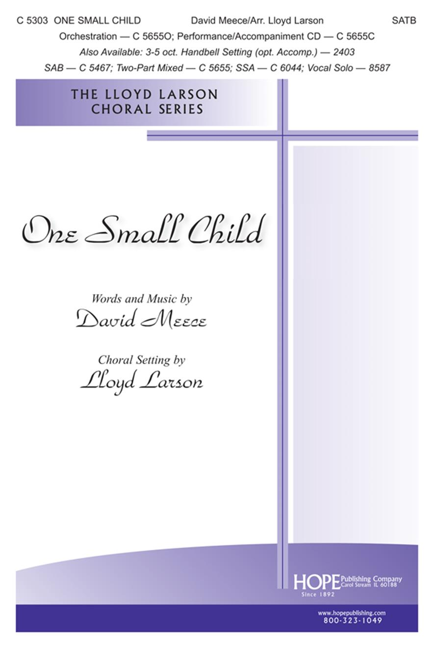 One Small Child - SATB Cover Image