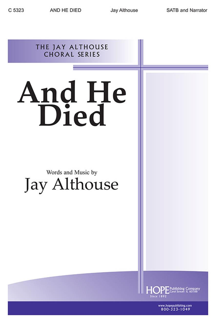 And He Died - SATB Cover Image