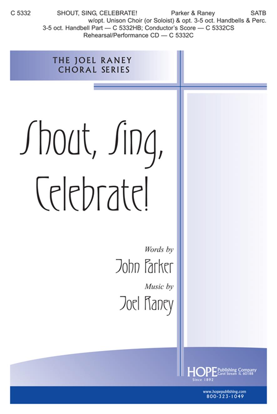 Shout Sing Celebrate - SATB Cover Image