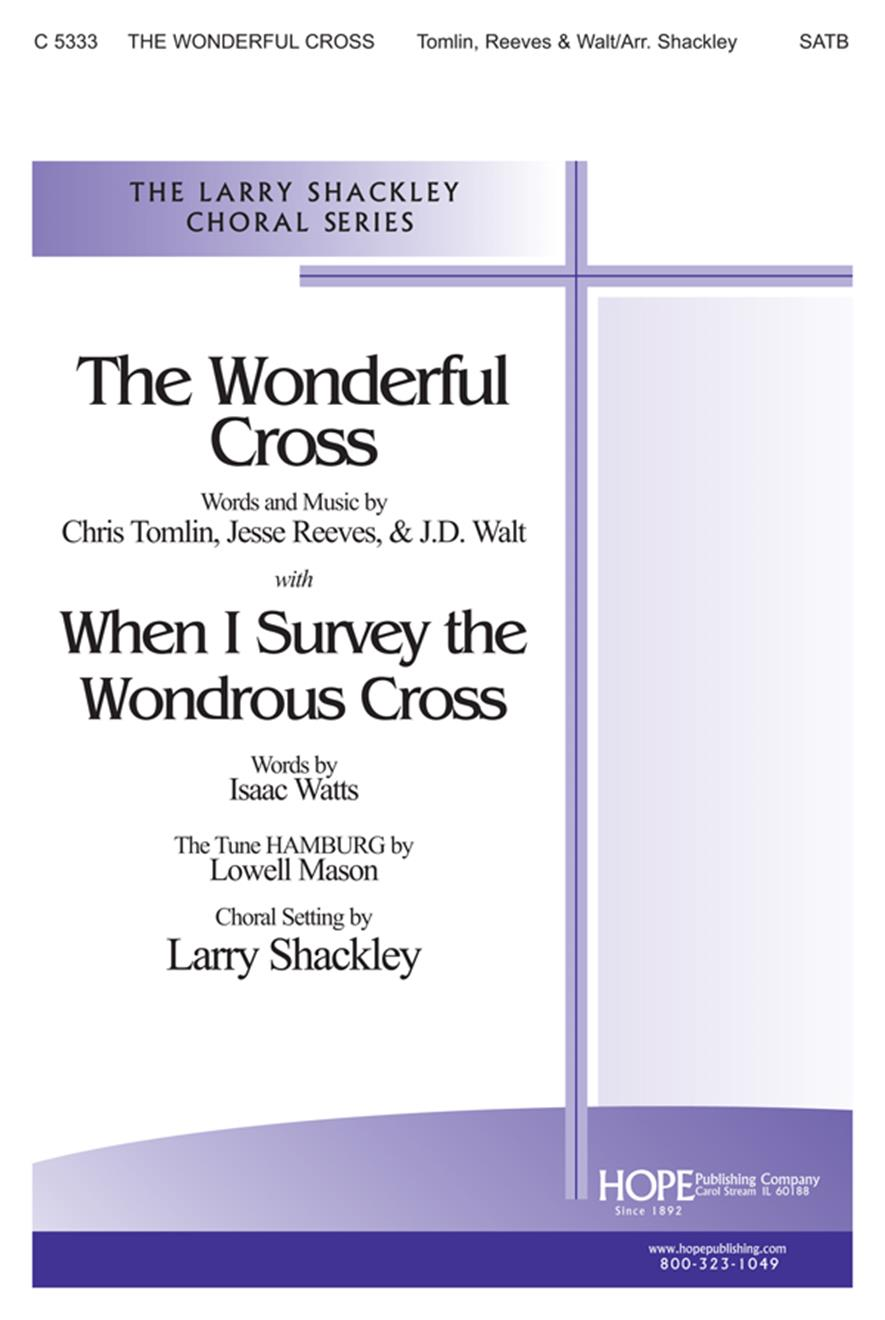 Wonderful Cross The - SATB Cover Image