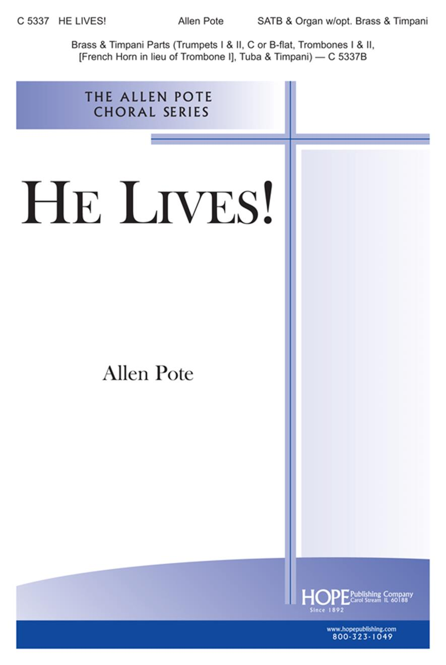 He Lives - SATB Cover Image