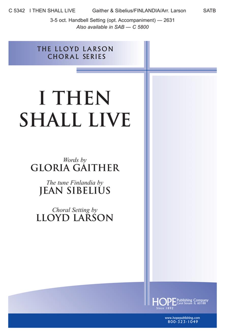 I Then Shall Live - SATB Cover Image