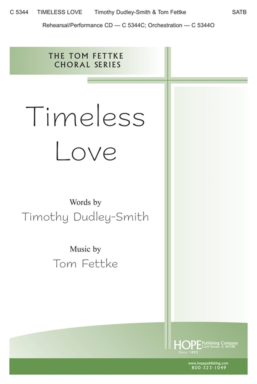 Timeless Love - SATB Cover Image