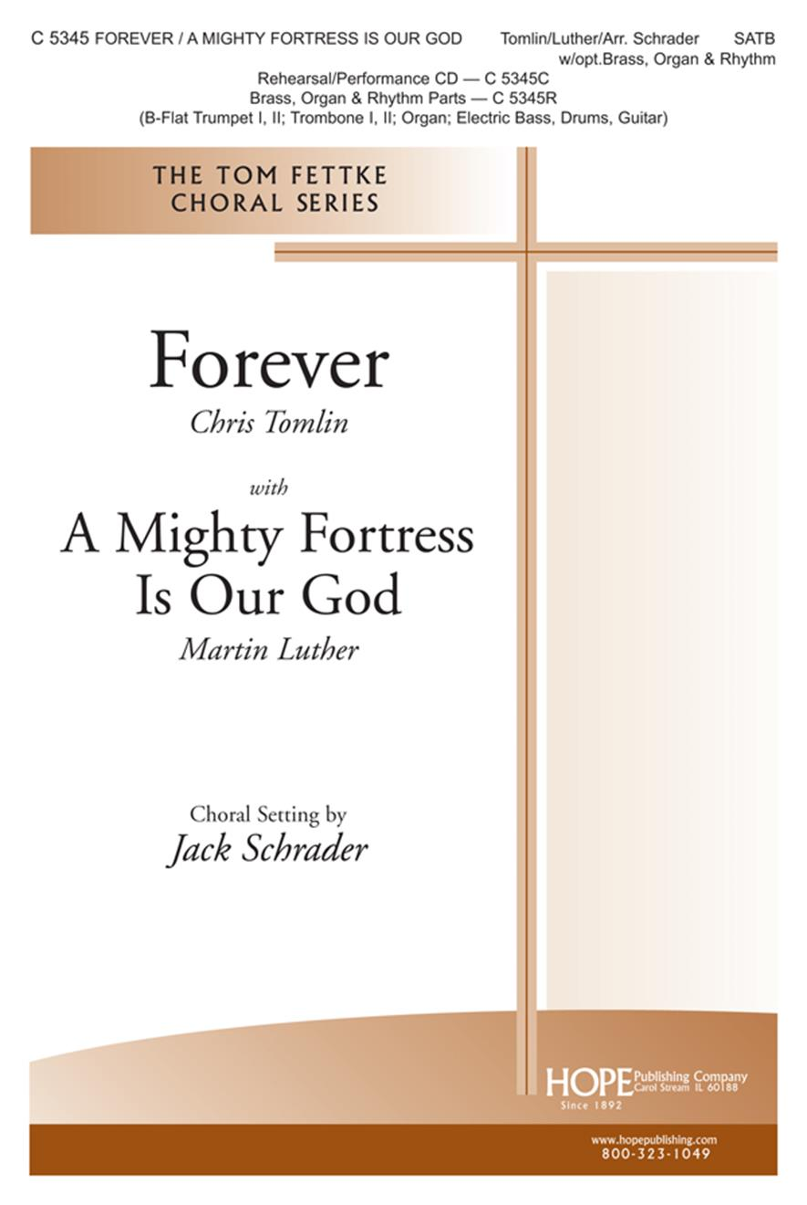 Forever-A Mighty Fortress Is Our God - SATB Cover Image