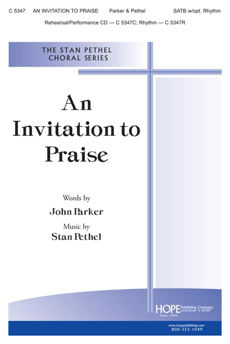 Invitation to Praise An - SATB Cover Image