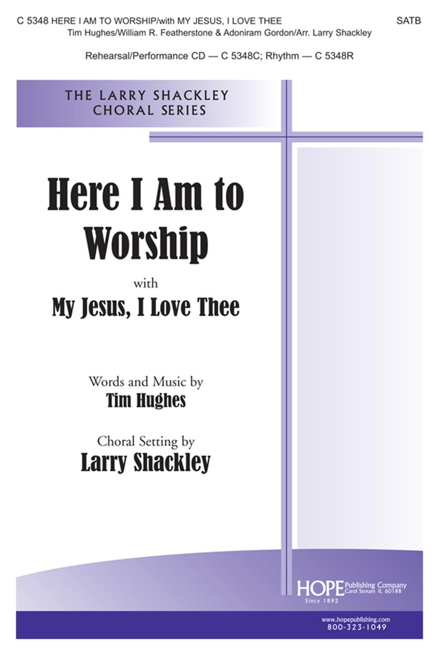 Here I Am to Worship - SATB Cover Image