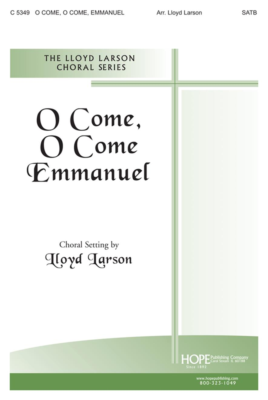 O Come O Come Emmanuel - SATB Cover Image