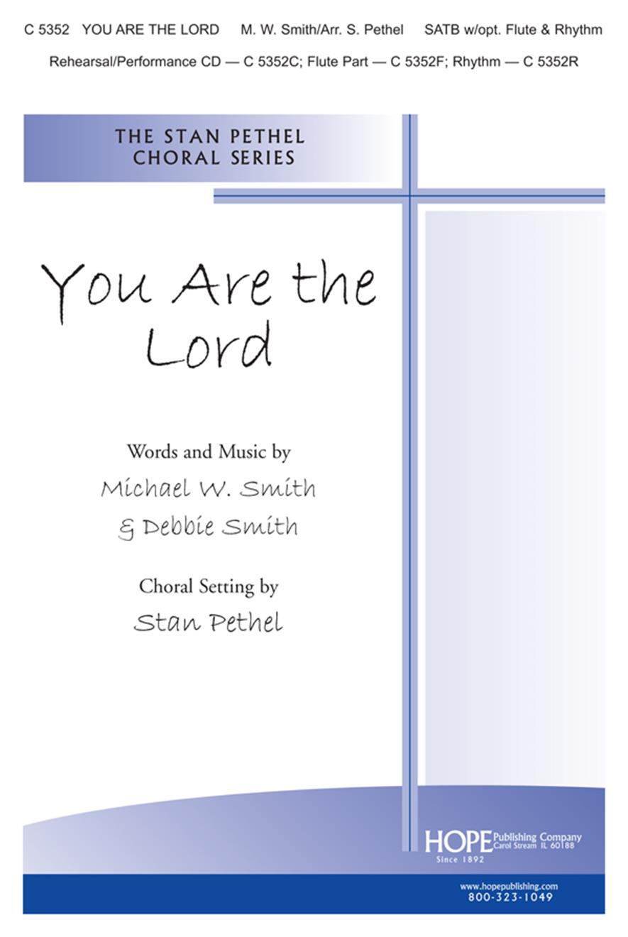 You Are the Lord - SATB Cover Image