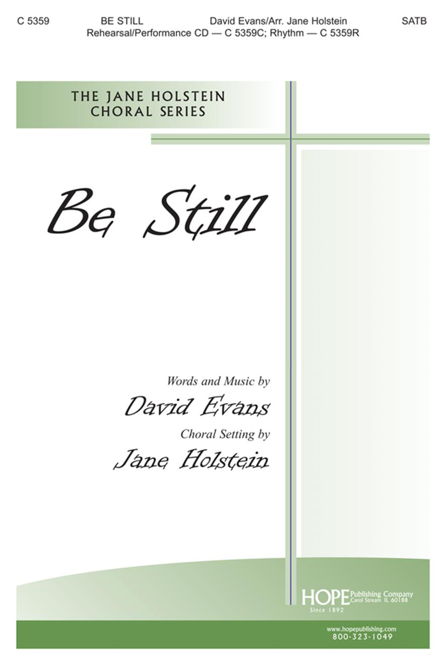 Be Still - SATB Cover Image