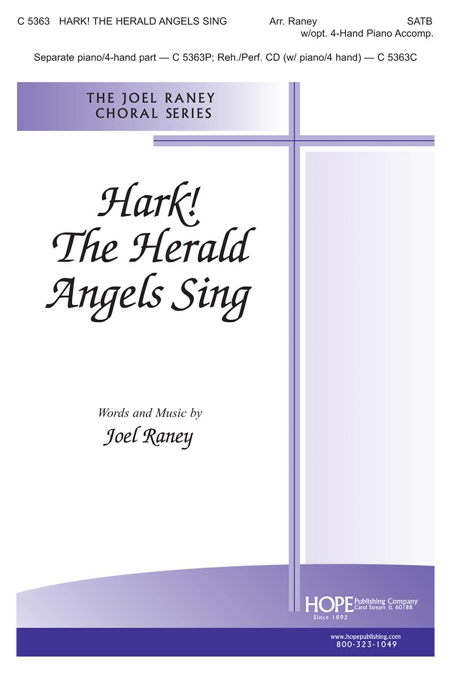 Hark the Herald Angels Sing - SATB Cover Image