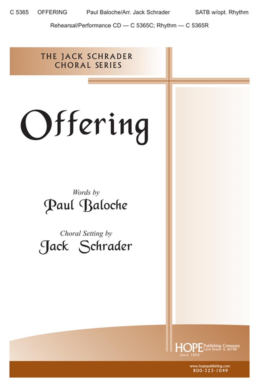 Offering - SATB Cover Image