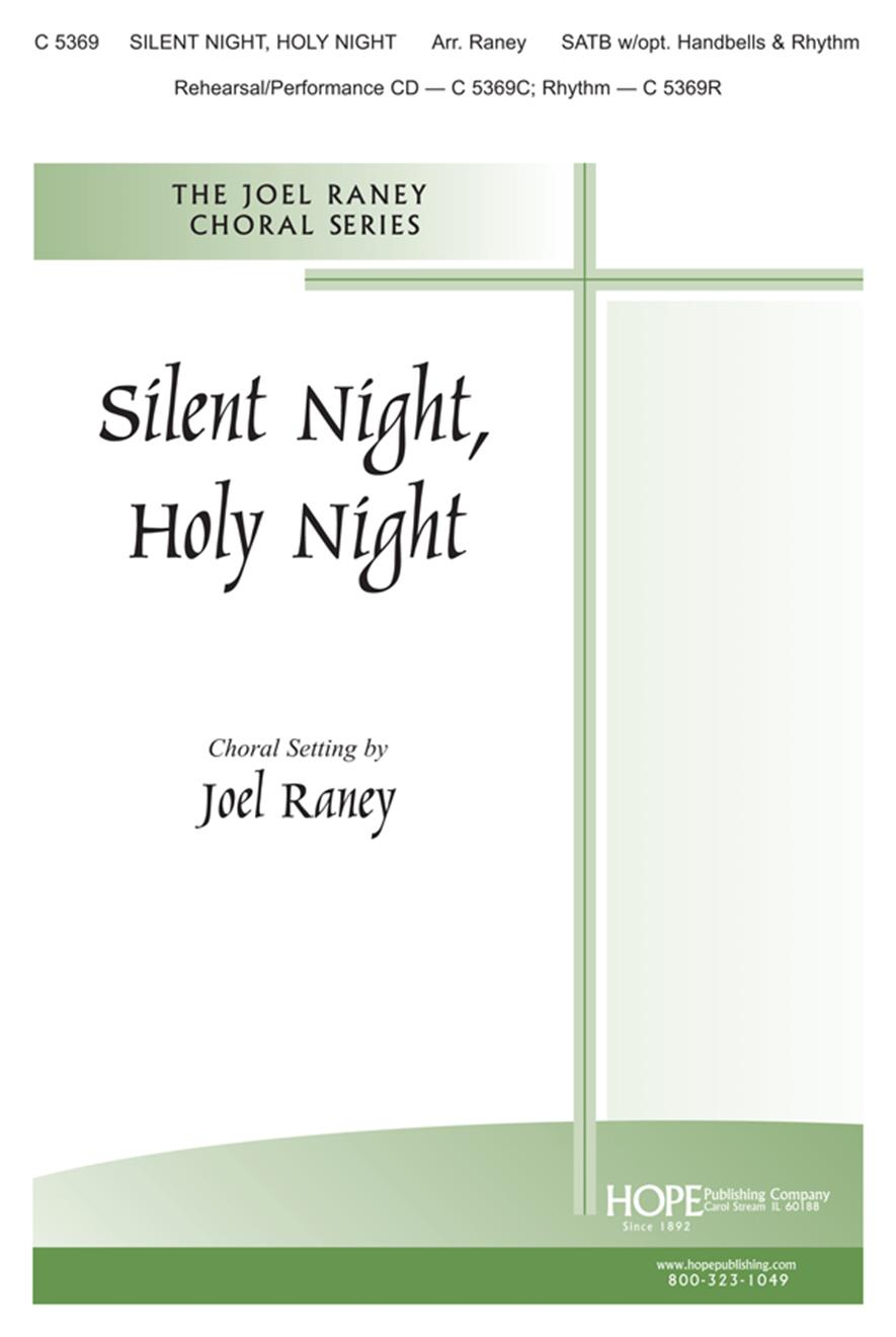 Silent Night Holy Night - SATB Cover Image
