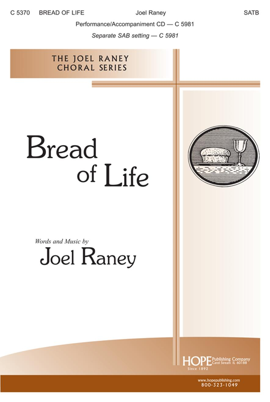 Bread of Life - SATB Cover Image