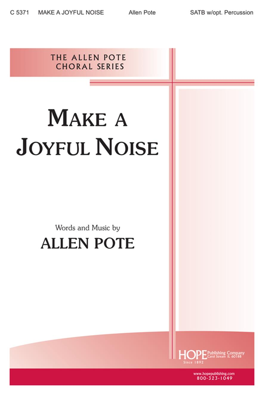 Make a Joyful Noise - SATB w-opt. Percussion Cover Image