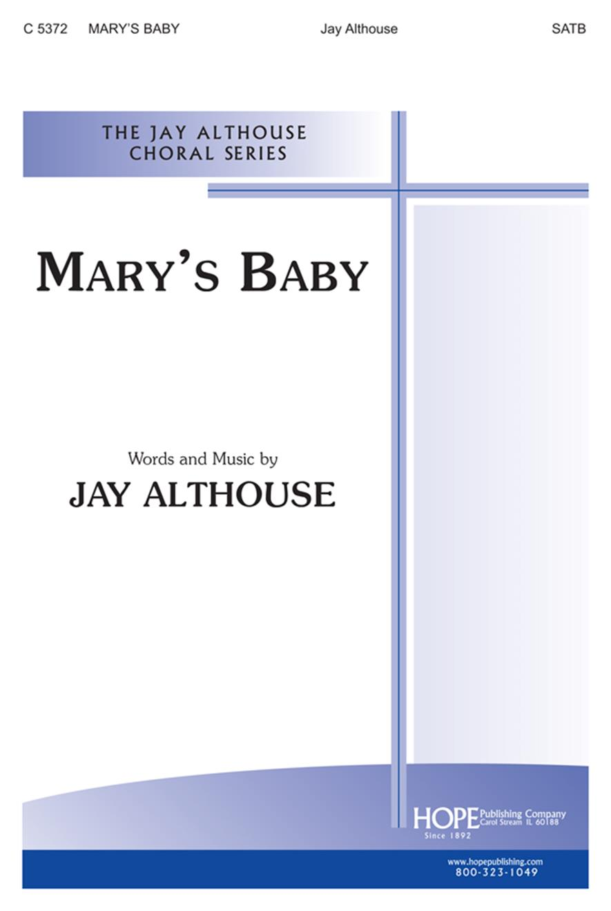 Mary's Baby - SATB Cover Image