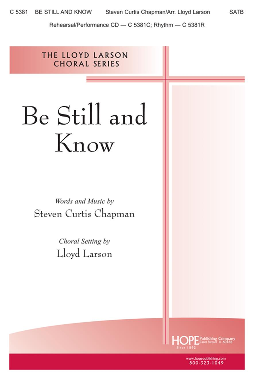 Be Still and Know - SATB Cover Image