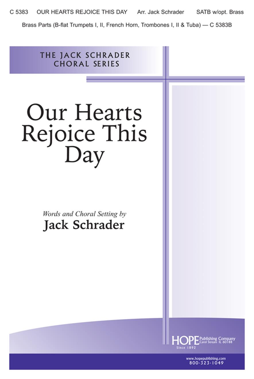 Our Hearts Rejoice This Day - SATB Cover Image