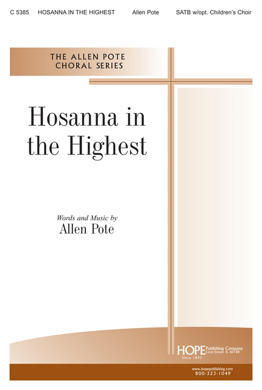 Hosanna in the Highest - SATB Cover Image