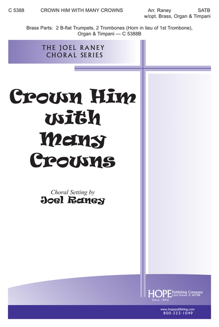 Crown Him with Many Crowns - SATB Cover Image