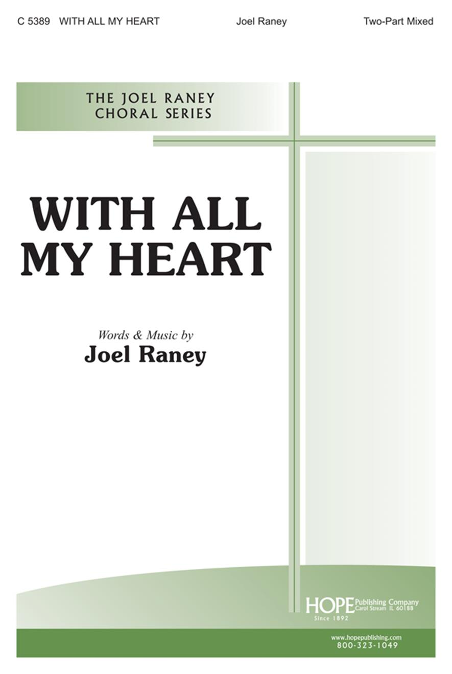 With All My Heart - Two-Part Mixed Cover Image