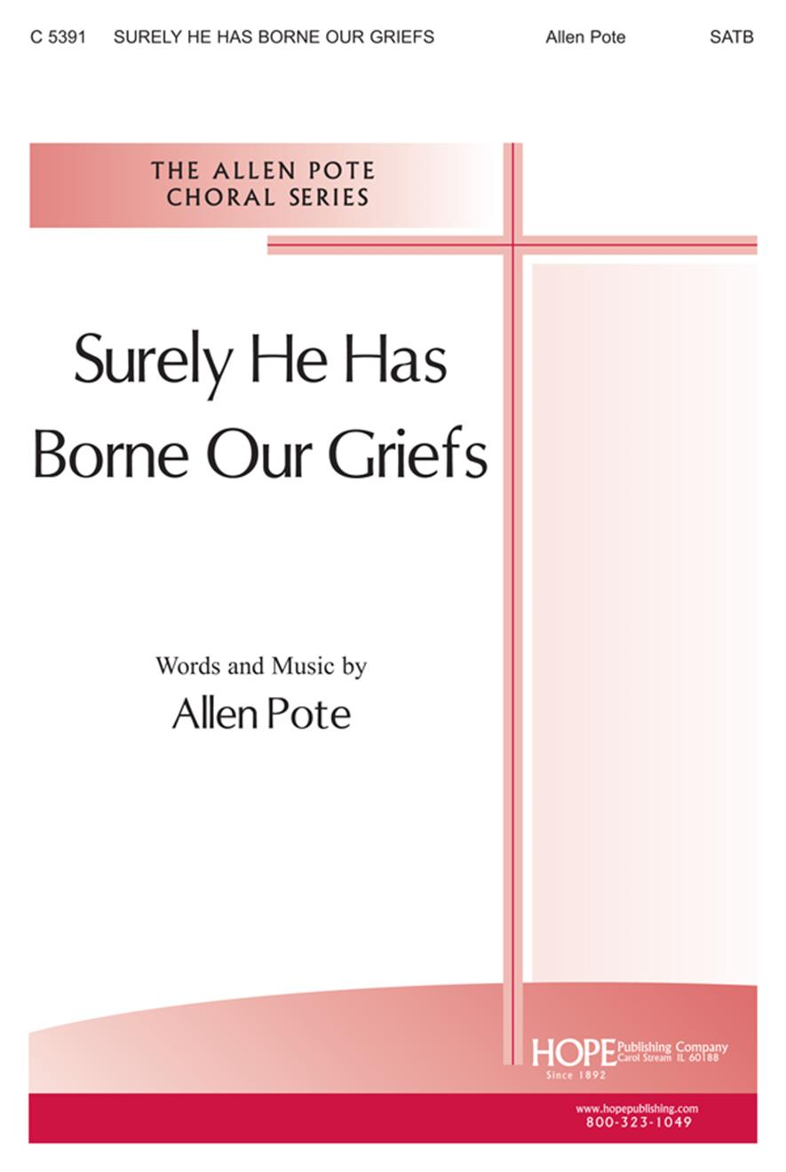 Surely He Has Borne Our Griefs - SATB Cover Image