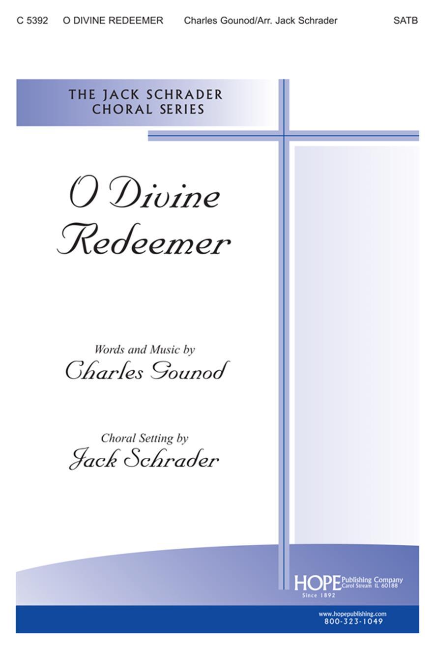 O Divine Redeemer - SATB Cover Image