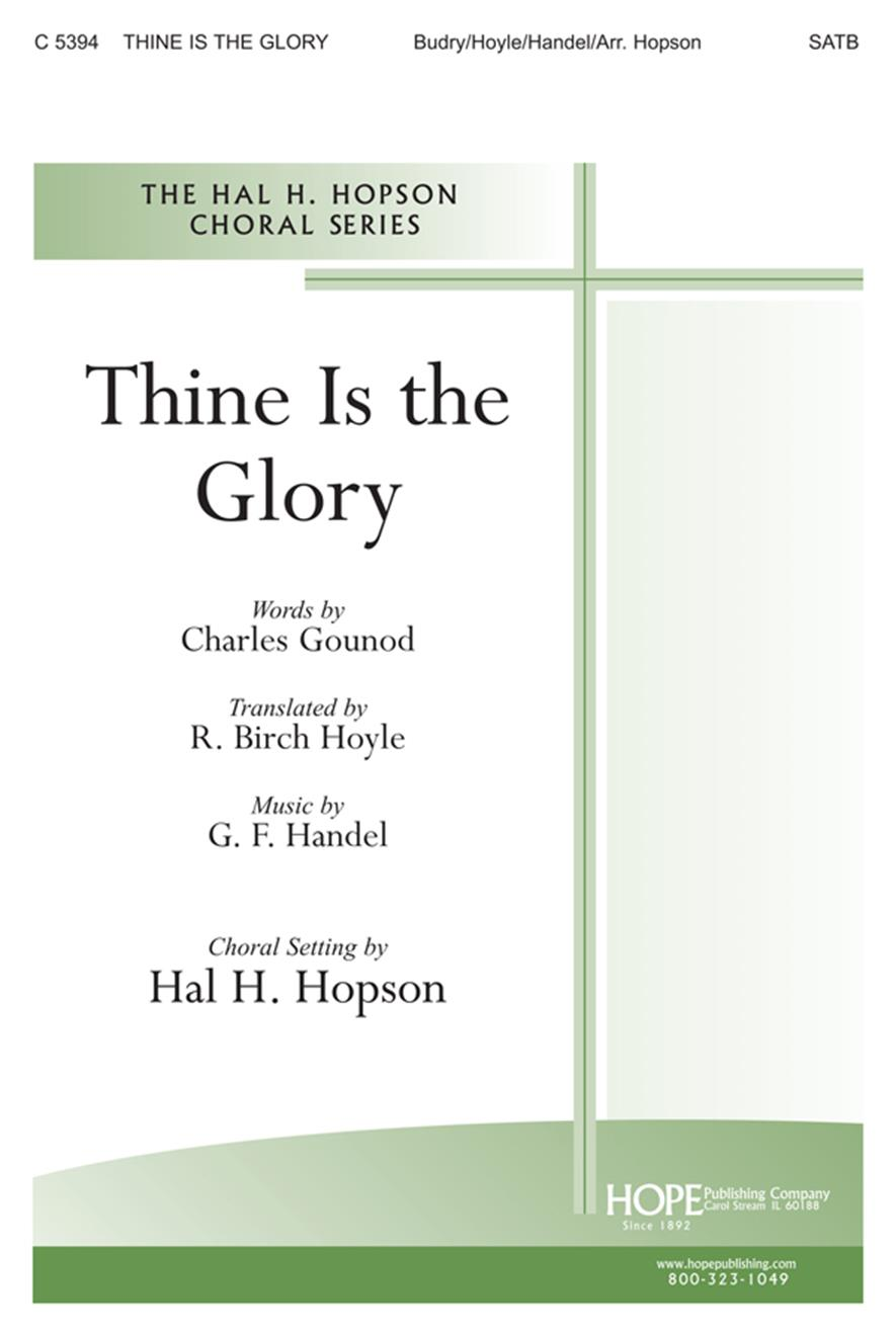 Thine Is the Glory - SATB Cover Image