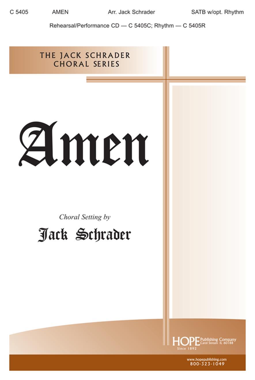 Amen - SATB Cover Image