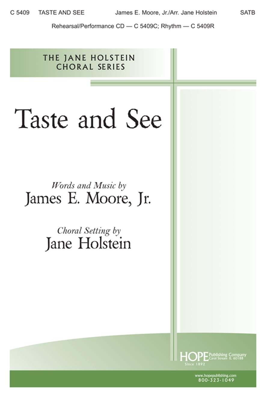Taste and See - SATB Cover Image