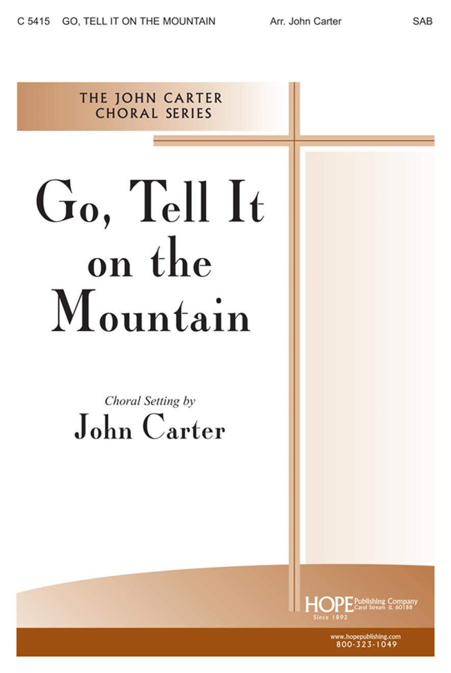 Go Tell It on the Mountain - SAB Cover Image