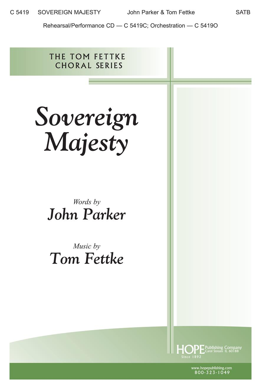 Sovereign Majesty - SATB Cover Image