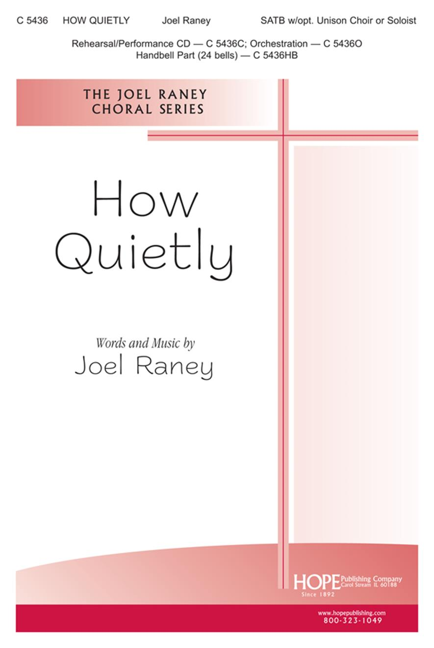 How Quietly - SATB Cover Image